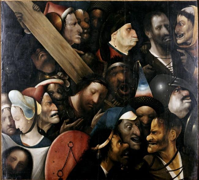 «Несение креста», Иероним Босх — описание картины