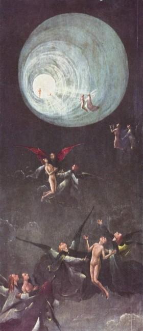 «Восхождение в эмпирей», Иероним Босх — описание картины