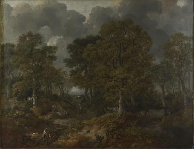 «Корнардский лес», Томас Гейнсборо — описание картины