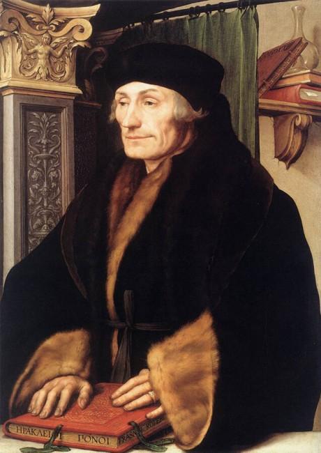 «Портрет Эразма Роттердамского», Ганс Гольбейн — описание картины