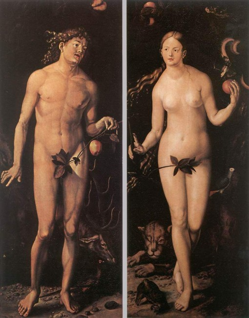 «Адам и Ева», Ханс Бальдунг — описание картины