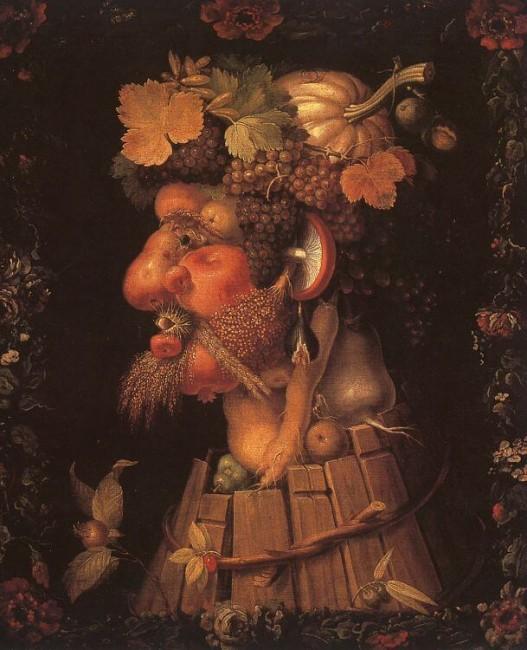 «Осень», Джузеппе Арчимбольдо — описание картины