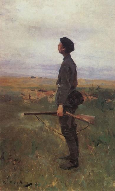 «Неудача», Константин Коровин — описание картины
