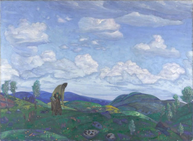 «Пантелеймон-целитель», Николай Рерих — описание картины