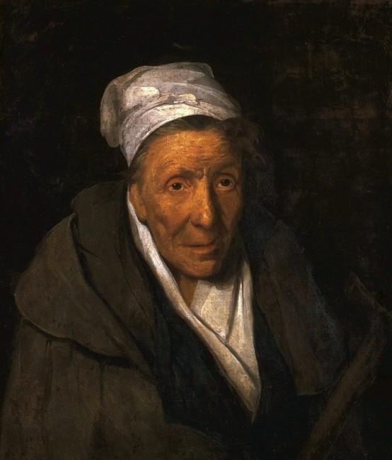 «Портрет женщины, одержимой карточной игрой», Теодор Жерико — описание