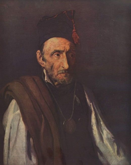 «Портрет умалишённого, страдающего манией полководца», Теодор Жерико — описание