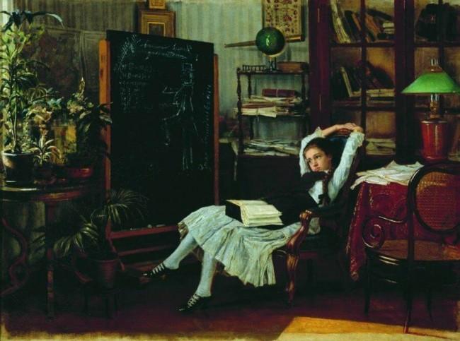 «Мечты», Константин Аполлонович Савицкий — описание картины