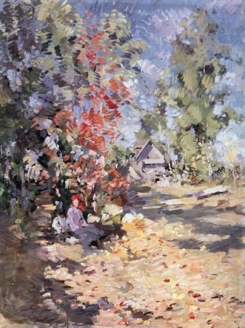 «Осень», Константин Коровин — описание картины