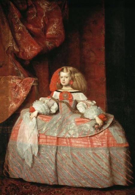 «Портрет инфанты Маргариты в детстве», Хуан Батиста Мартинес дель Масо — описание