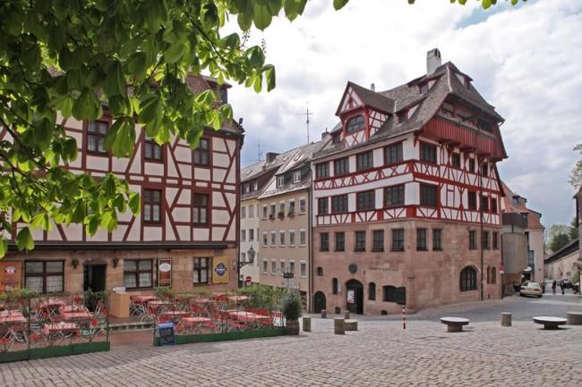 Дом-музей Альбрехта Дюрера в Нюрнберге