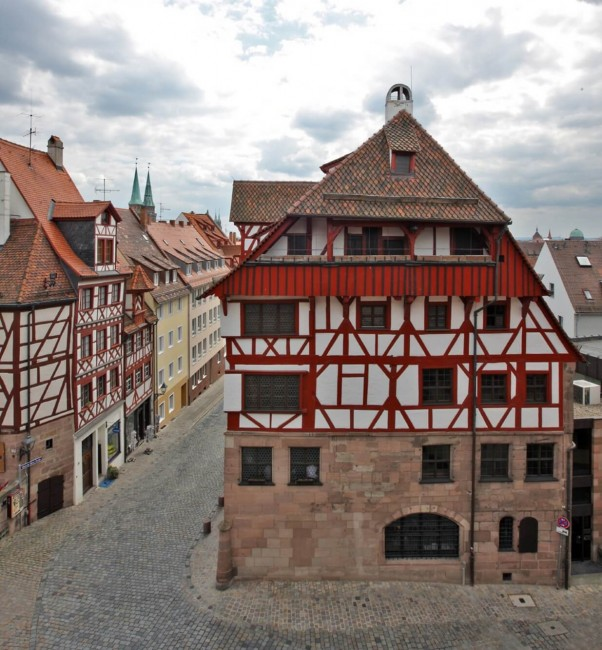 Дом-музей Альбрехта Дюрера в Нюрнберге - фото