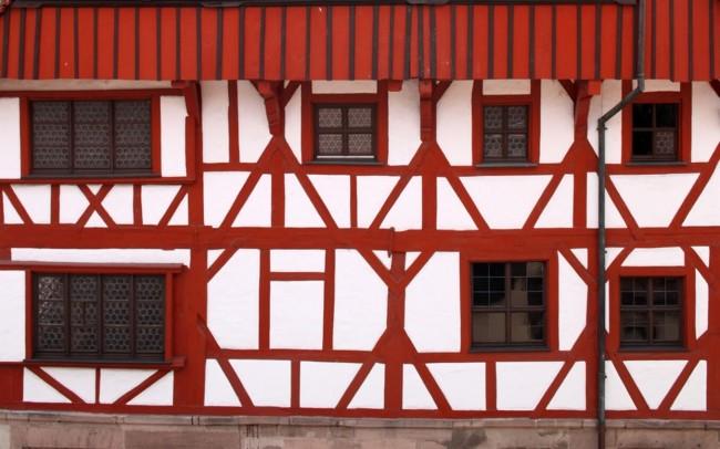 Дом-музей Альбрехта Дюрера в Нюрнберге, фото вблизи