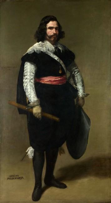 «Дон Адриан Пулидо Пареха», Хуан Батиста Мартинес дель Масо — описание