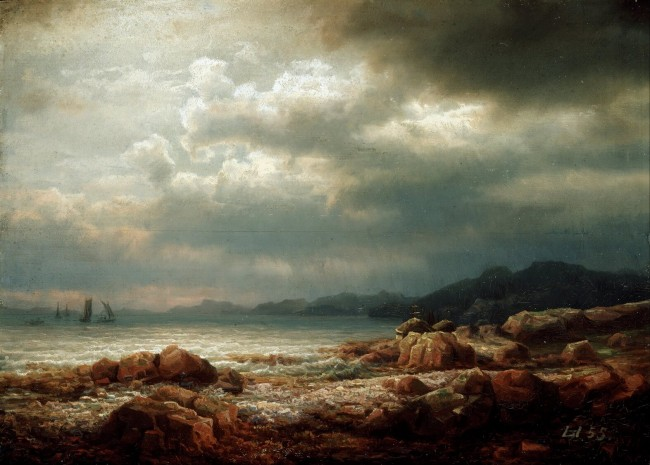 «Прибрежный ландшафт», Ларс Хертервиг — описание картины